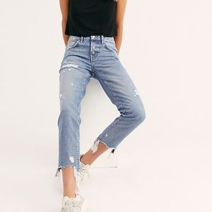 FREE PEOPLE Good Time Relaxed Skinny Jeans NEW